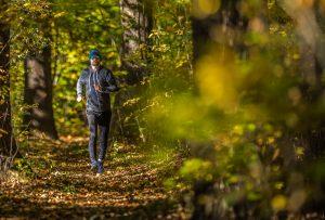 Outdoor Forest Running